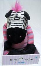 Friends Boutique Zebra Plush Stuffed Animal