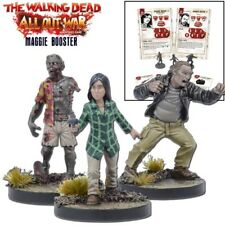 The Walking Dead Maggie Booster English All Out War Mantic Games Arnold Zombie