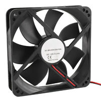 120mm x 25mm 12V 2Pin Sleeve Bearing Cooling Fan for Computer Case 2018 CF New
