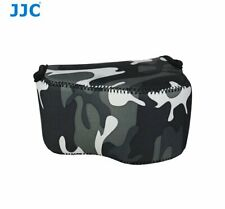 JJC OC-S1YGR Mirrorless Camouflage Camera Pouch Case Bag for Sony A6000 etc.