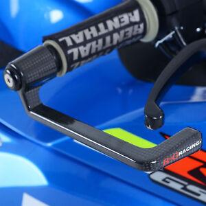 R&G Universal Motorcycle Motorbike Front Brake Lever Guard Carbon Fibre