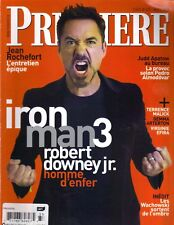 ROBERT DOWNEY JR FRENCH Premiere Magazine 3/13 JUDD APATOW GEMMA ARTERTON