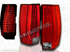 07-14 CHEVY SUBURBAN/TAHOE / 2007-2014 YUKON LED TAIL LIGHTS RED G5