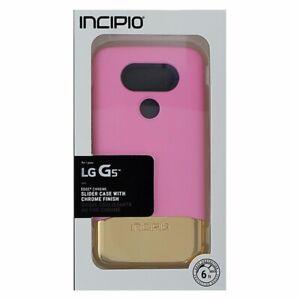 Incipio Slider Case for LG G5 Plus (Edge Chrome) -Pink/Rose Gold