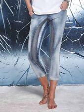 Hosengröße 26 Damen-Jeans mit mittlerer Bundhöhe in Kurzgröße