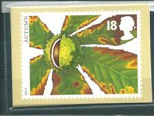 GB - PHQ CARDS -1993 -  AUTUMN FRUITS  - BACK - FDI/SHS - COMP. SET USED