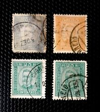 Portugal Stamps Sc 67, 71x2, And 72 Used