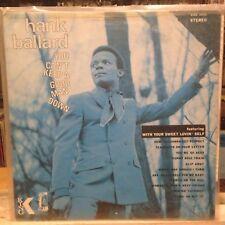 EXC LP~JAMES BROWN~HANK BALLARD~You Can't Keep A Good Man Down~[OG 1968~KING~Iss