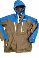 THE NORTH FACE Boys' Shell Jacket Ski HyVent Luxury Gear M 10-12 Grey Blue