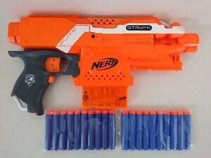 Nerf N-Strike Elite Stryfe Motorised Gun Blaster with 20 Bullets Free Postage