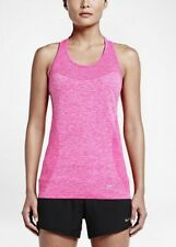Women's Nike Dry Knit Racer Back Knitted Tank, Vest, 718567-639, XS, S, L, XL
