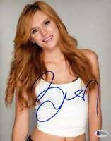 BELLA THORNE BAS BECKETT Coa Hand Signed 8x10 Photo Autograph Authentic