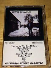 David Gilmour - David Gilmour (cassette) Pink Floyd
