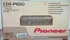 Pioneer CDX-P650 6-Disc Universal CD Changer Brand New In Box