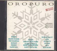 Oro Puro - EUROPE GAZNEVADA SPAGNA SPANDAU BALLET JOVANOTTI - CD 1988 NEAR MINT