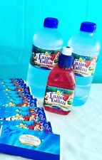 10 X The Little Mermaid Ariel Adhesive Bottle Labels Water Resistant 9.6cm X 5cm