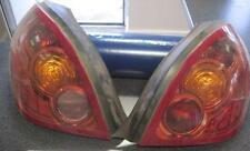 NISSAN ALMERA N16 02 2003 2004 2005 Driver & PASSENGER REAR BACK LIGHT CLUSTERs