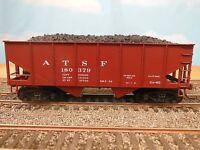Santa Fe Oxide Accurail HO #2501.4 USRA 2-Bay 55-Ton Open Hopper Kit
