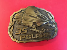 POLARIS •  Collector's 35th Anniversary Vintage 1989 Indy Snowmobile Belt Buckle