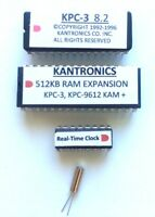 Kantronics KPC-3 (Non-plus) Firmware, RTC & 512KB Memory Expansion Options