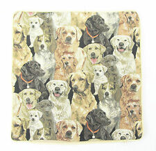 Tapestry Cushion Filled Dog Design Signare -  40 x 40 cm, Labradors, Retrievers