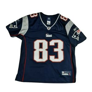 Wes Welker New England Patriots NFL Reebok On Field Women's Jersey Size M