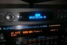 Korg Wavestation SR - 03R/W (Red/White/Blue/Amber) Custom OLED Display !