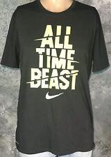 "Vintage Style NIKE Sportswear DRI-FIT ""All Time Beast"" SWOOSH MEN'S L T-Shirt"