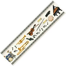 NEW Creative Memories GREAT LENGTH Music Sticker - Piano Violin Tamborine Drums