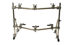 Gon Bops Hardware Percussion Racks Complete Rack System 3 Congas - Rk3