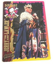 Jerry King Lawler WWF 1995 Action Packed Signed Autograph Auto Card 332 WWE JSA