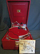 HMV 102 RED + RARE Record Holder EXCELLENT COSMETIC CONDITION *