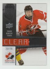 (55199) 2014-15 Upper Deck Team Canada Juniors Clear Cut Travis Konecny #Pfn25