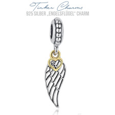 "925er Silber "" Engels Flügel "" Charm Armband Disney kompatibel mit P Charms"