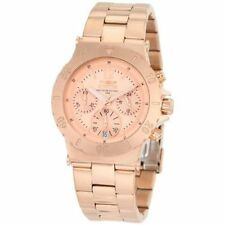 Invicta Specialty 1277 Women's Analog Rose Gold Tone Chronograph Date Watch