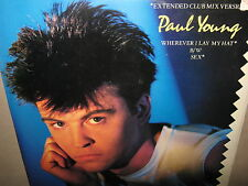 PAUL YOUNG Wherever I Lay My Hat Sex lp 1988 Columbia Stereo CBS 44-04077 SEALED