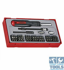 Teng Tools 74 Piece Mega Drive Ratcheting Bit Driver Set TTMD74