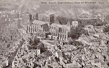 York. South East Aerial View of Minster # 451 by Photochrom.