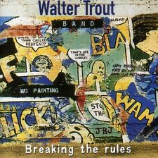 Breaking The Rules - Walter Band Trout (2000, CD NUEVO)