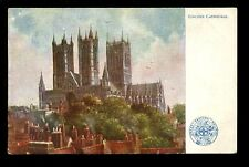 Lincs LINCOLN Cathedral Railway GER OFFICIAL vintage PPC