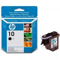 GENUINE HP 10 C4800A BLACK PRINTHEAD 2000 2500 C CN ZCORP 3D PRINTER FASTPOSTAGE