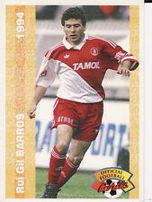 N°132 RUI GIL BARROS MARSEILLE OM CARTE PANINI FOOTBALL FRANCE CARDS 1994