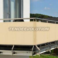 Telo Privacy per ringhiera balcone con occhielli parà tempotest tenda da sole
