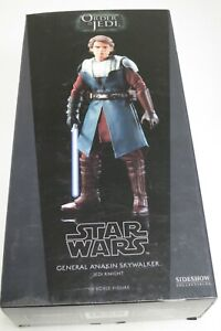 "SIDESHOW Star Wars General Anakin Skywalker 1:6th 12"" Figure NEW Clone Wars"