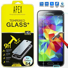 Premium Tempered Glass Screen Protector Film for Samsung Galaxy S4 mini i9190