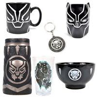 Black Panther Marvel Mug / Glass / Bowl / Card Christmas Birthday Gift Selection