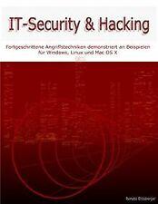 IT-Security & Hacking: Fortgeschrittene Angriffstechnike...   Buch   Zustand gut