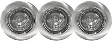 6 x Brushed Chrome GU10 recessed ceiling downlight fitting 240V fixed spotlight