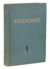 Ficciones ~ JORGE LUIS BORGES ~ First Edition 1944 ~ 1st Printing ~ Buenos Aires