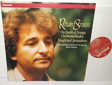 6514 321 Richard Strauss Orchestral Songs Siegfried Jerusalem / Kurt Masur